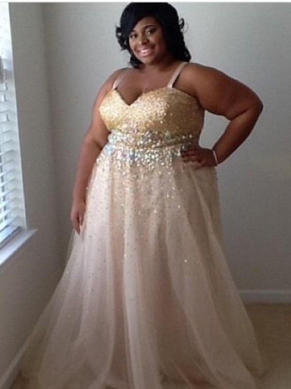 Plus Size Dresses with Tulle