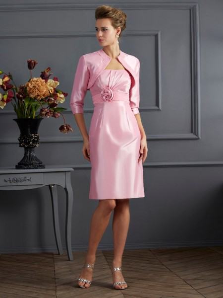 Stylish Taffeta Special Occasion 3/4 Sleeves Wrap