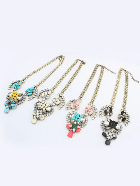 The Most Trendy Occident Major suit Retro Hyperbolic Personality Hot Sale Necklace