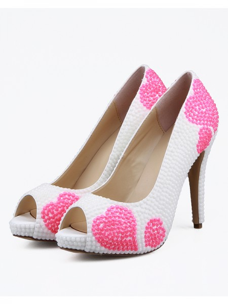 The Most Trendy Women's Peep Toe Stiletto High Heels