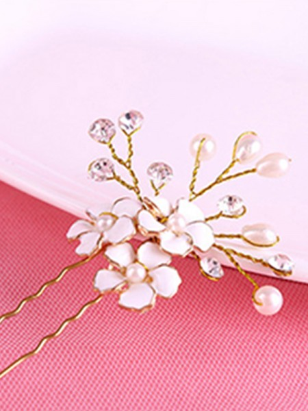 Bright Flowers Alloy Headpieces